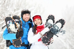 New York snowshoe package